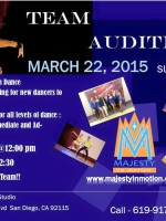 Majesty Salsa & Bachata Team Auditions