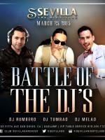 Battle of the DJs at Sevilla Night Club