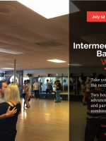 Intermediate Bachata Workshop - Two Hours For Only $20!