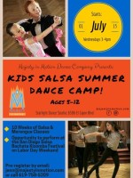 Majesty In Motion presents...10 Week Kids Salsa Summer Dance Camp