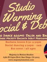 Studio Warming & Social Debut