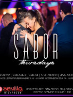 Sabor Thursdays @ Cafe Sevilla