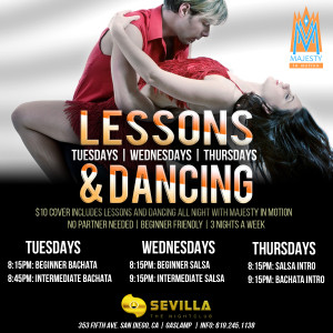 San Diego Salsa Lessons