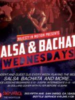 Salsa & Bachata Wednesdays @ Sevilla Nightclub