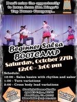 Beginner Salsa Bootcamp - November 10, 2012