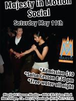Majesty May Salsa Social