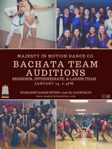 Salsa & Bachata Auditions