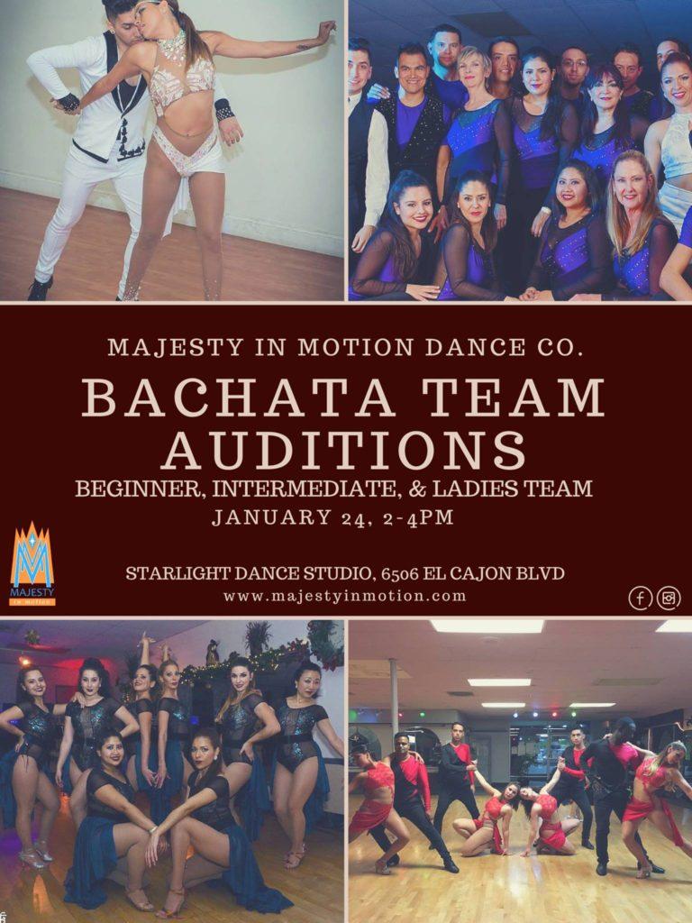 Salsa & Bachata Auditions