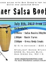 Beginner Salsa Bootcamp - July 8, 2012