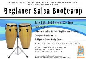 Beginner Salsa Bootcamp - July 8, 2012