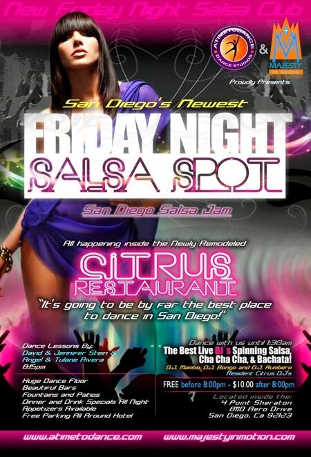 Friday Nights at Citrus Lounge