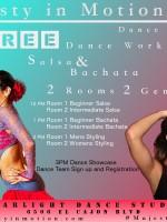 Free Salsa & Bachata Workshop
