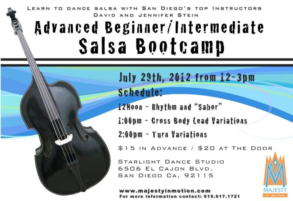 Intermediate Salsa Bootcamp - July 29, 2012