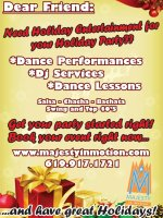 Holiday Entertainment & Gift Certificates