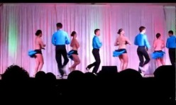 Semi-Pro Salsa Team in Austin 2012