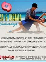 Salsa Wednesdays at Sevilla