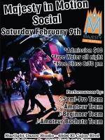 Majesty Salsa Dancing Social - February 9, 2013