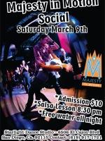 Majesty Salsa Dancing Social - March 9, 2013