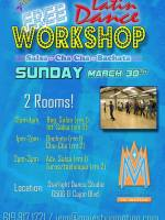 Free Latin Dance Workshops in March